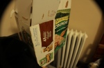 The snacks I keep within my reach.
